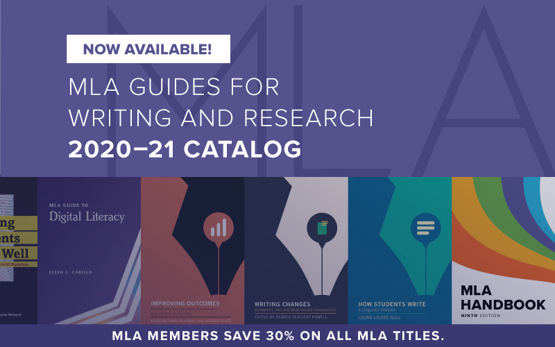 MLA Guides for Writing and Research Title Catalog